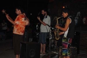 Bandas musicales en festival Subestación Rigolleau