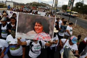 Berta Cáceres 1 aniversario