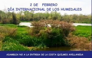 Dia mundial de los humedales. Asamblea Q